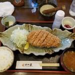 92400962 - 山形豚 特選リブロースかつ(250g)定食
