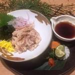 地鶏専門個室 瀧口 - 鶏皮ポン酢