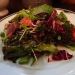 Genya - カツオのグレープフルーツのサラダ