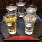 秋田杉 - 利き酒5品セット