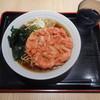 名代 富士そば - 料理写真:紅生姜天¥410-