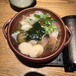 金澤旬料理 八兆屋 駅の蔵 - 山海いしる焼き