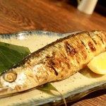 呑喰まんまる。 - 料理写真:秋刀魚の塩焼き