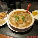 ラーメン麺長 - 唐揚げ定食 +370円