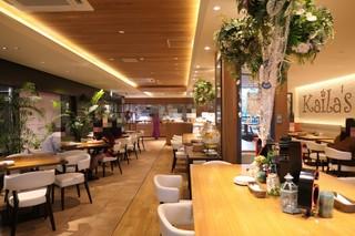 Kaila Cafe & Terrace Dining 渋谷店 - 店内模様