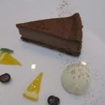 ザ グルテン フリー バルコニー ルーム - 料理写真:NYチョコレートチーズケーキ
