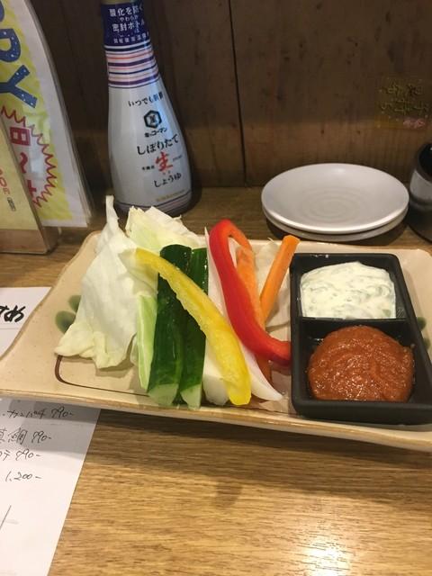 凧、凧 八幡山店 - お通し350円
