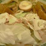 桂花ラーメン - 太肉麺(ターロー麺)2011.10