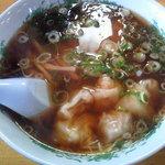 9241734 - 醤油ワンタン麺