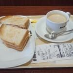 ドトールコーヒーショップ - モーニングセット