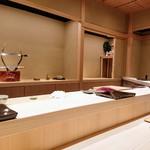 大阪天満宮 鮨とよなが - カウンター8席