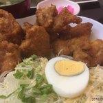 串かつのまるたけ - 鶏唐揚げ