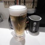 寿司 魚がし日本一 - セットのビール