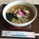 ホテルさるふつ ふるさとの家内 レストラン風雪 - ホタテラーメン ¥1.000