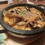 ビストロ魚金 - 真鯛のブイヤベース1580円