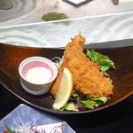 92415490 - 鯵と太刀魚のフライ