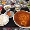 王様の餃子 - 料理写真:カニ玉ランチ