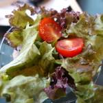 牡蠣亭 - サラダ