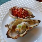 牡蠣亭 - 殻付牡蠣のグラティネ
