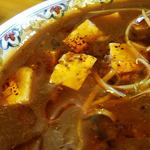 辛っとろ麻婆麺 あかずきん - 豆腐が見えがる麺は見えない