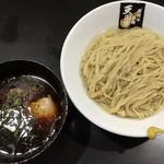 超純水採麺 天国屋 - 2018/9/9限定・猫足昆布水の鶏醤油つけ麺(900円)