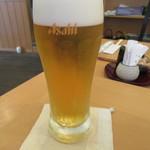 手打ち蕎麦 二村 - 生ビール