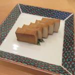 手打ち蕎麦 二村 - 「くんせい豆腐」