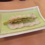 手打ち蕎麦 二村 - 「かまぼこの香り焼き」