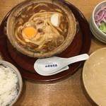 山本屋本店 - 味噌煮込みうどんセット