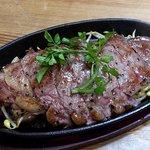 洋食店 リセット - 鉄板ステーキ定食
