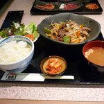 黒毛和牛焼肉 香園 - 料理写真:黒毛和牛焼肉 香園(スタミナ定食)
