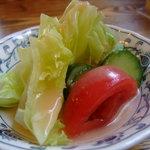 支倉 - 定食のサラダ♪