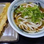 香の川製麺 - 料理写真:冷かけ[\280]+ちく天[\100]