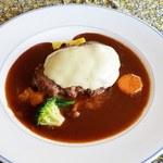 レストラン グラスリー - 料理写真:ハンバーグ‼