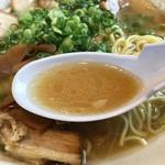 ラーメン道場 - スープ