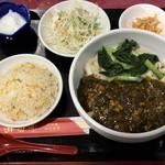 92422917 - 酸菜肉沫刀削麺セット ¥800