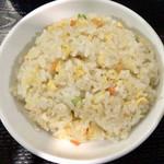 92422926 - 酸菜肉沫刀削麺セット ¥800 の小チャーハン