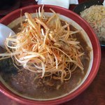 馬琴 - 伊勢味噌肉ネギラーメン