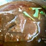 クボカリー - ラム肉が一つ