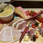 ブラッスリー ジゴ - 前菜の盛り合わせ