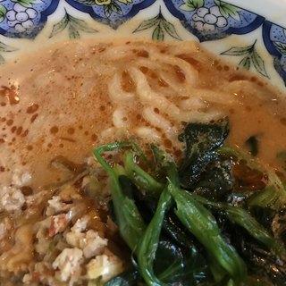 中国ラーメン揚州商人 第二産業南中野店 - タンタン麺。 美味し。