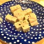 立ち呑みラッキー - クリームチーズのたまり漬