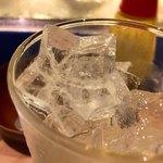 立ち呑みラッキー - 氷が星形