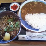 砂場そば店 北品川 - カレー定食 850円(税込)(2018年9月4日撮影)