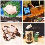 92426584 - マナガツオとめちゃ美味な茹で真蛸に日本酒(^^)
