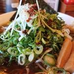 麺や食堂 - 2018年9月 肉ねぎそば 980円+税