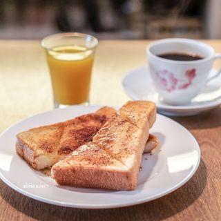 吉岡コーヒー - モーニング