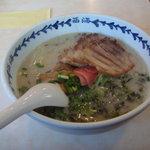 ラーメンショップ 西海 - 炙りバラとろチャーシュー