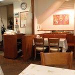 インドレストラン Taji - 店内は清潔です