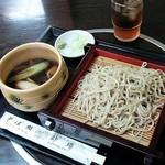 砂場 - 料理写真:鴨せいろ(1080円)